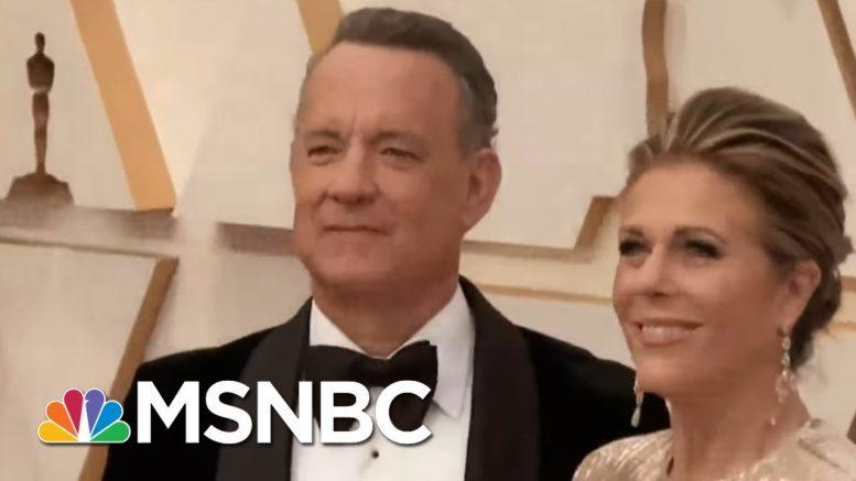 Tom Hanks, Rita Wilson Test Positive For Coronavirus | Rachel Maddow | MSNBC 1