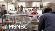 Coronavirus Poses Higher Risk For Homeless Population | Velshi & Ruhle | MSNBC 4