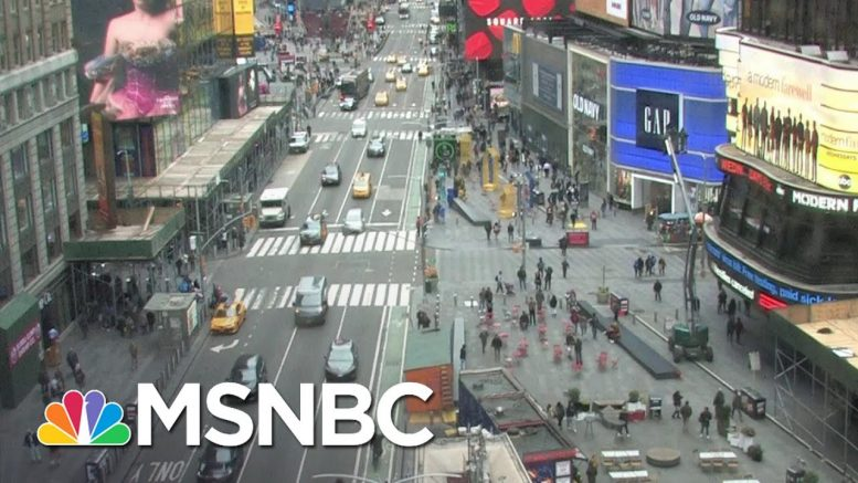 New York Bans Gatherings Of More Than 500 People, Broadway Shows Included   Katy Tur   MSNBC 1