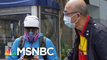 More Coronavirus Cases Reported In California | Katy Tur | MSNBC 4