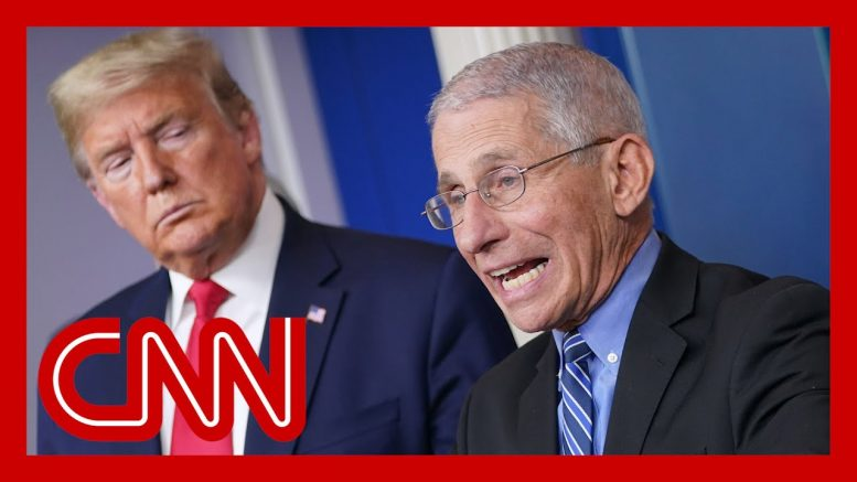 See what Fauci thinks about Trump's plan to re-open country 1