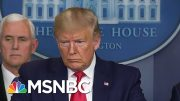 Dems, President Donald Trump, And Officials Clash Over Coronavirus | Deadline | MSNBC 5