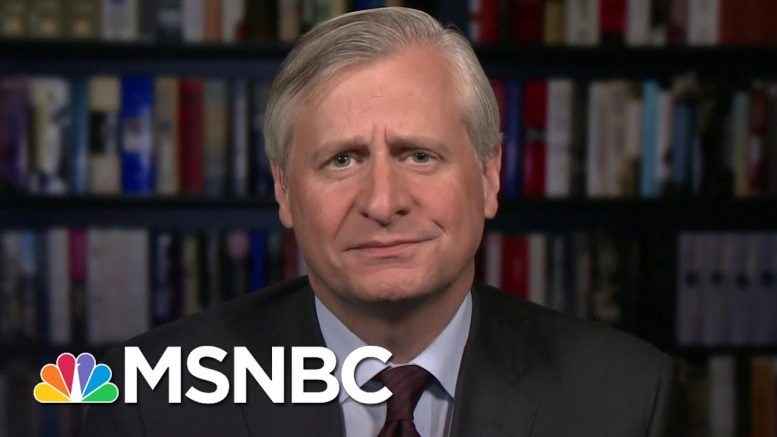 Jon Meacham: Trump's Reaping What He Sowed After Attacking Government   The 11th Hour   MSNBC 1