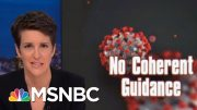 Trump Admin Fails On Basic Guidance To Americans Facing Coronavirus | Rachel Maddow | MSNBC 3