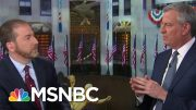 De Blasio: 'For A Lot Of People' Coronavirus Is 'Manageable' | MTP Daily | MSNBC 3