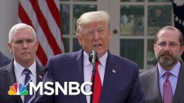 U.S. Reeling From Coronavirus Testing Shortage As Trump Says He Won't Take Any Responsibility 6