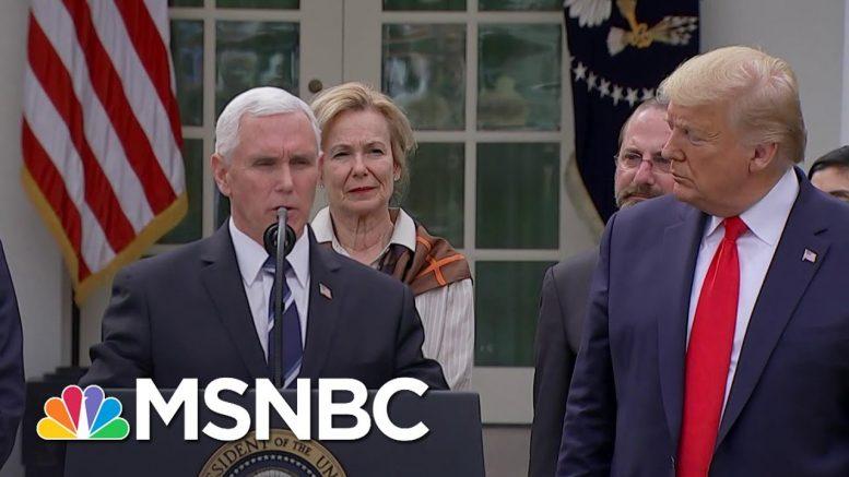 The Cult Of Trump During Coronavirus | All In | MSNBC 1