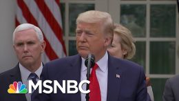 Trump Says 'I Don't Take Responsibility' For Coronavirus Failures   The Last Word   MSNBC 2