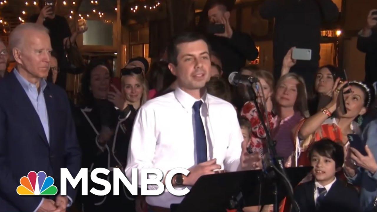 Pete Buttigieg Endorses Joe Biden At Texas Campaign Rally | Hardball | MSNBC 1