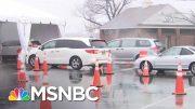 New Rochelle Starts Drive-Thru COVID-19 Testing | MSNBC 2