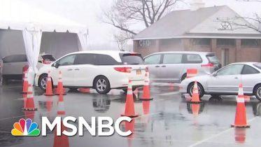 New Rochelle Starts Drive-Thru COVID-19 Testing | MSNBC 10