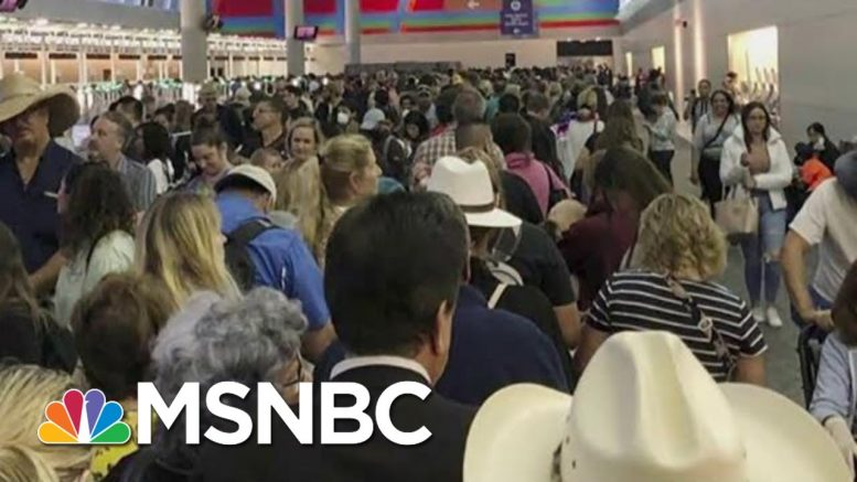 Joe: Trump Was So Ill-Prepared On Airport Screenings   Morning Joe   MSNBC 1