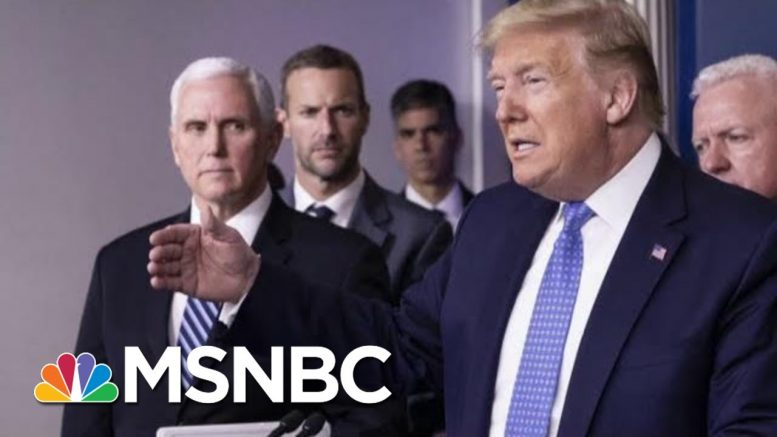Disconnect From Scientists, Trump On Coronavirus Continues | Morning Joe | MSNBC 1