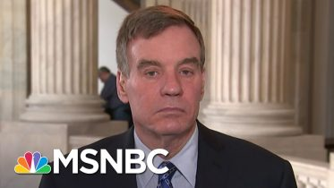 Sen. Warner: 'I Don't Think We Should Have Gone Out Of Session On Friday.'   Andrea Mitchell   MSNBC 1