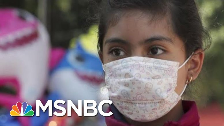 Donating Sanitizer & Producing Face Masks, Businesses Retool For Virus Threat   MTP Daily   MSNBC 1