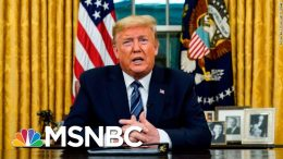 Trump Recommends Stricter Guidelines To Slow The Spread Of Coronavirus | Deadline | MSNBC 3