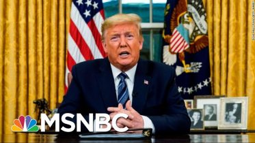 Trump Recommends Stricter Guidelines To Slow The Spread Of Coronavirus   Deadline   MSNBC 8