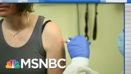 First Person To Test Coronavirus Vaccine Speaks Out | The Beat With Ari Melber | MSNBC 2