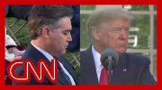 Acosta reads Trump his past remarks downplaying virus 3