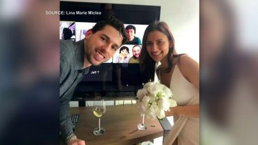 Toronto couple gets married virtually surrounded by friends and loved ones 6