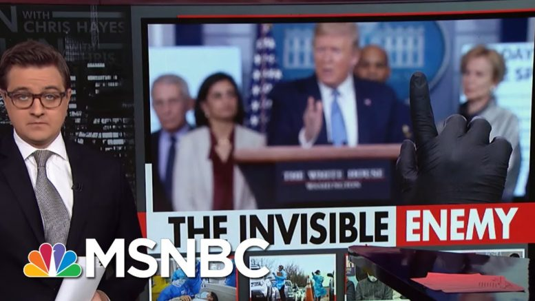 Chris Hayes On The Lack Of Precedent For The Coronavirus | All In | MSNBC 1