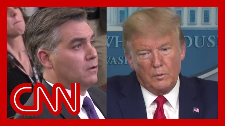 Acosta to Trump: This may be an uncomfortable question ... 1
