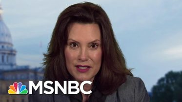 Michigan Governor Gretchen Whitmer On Coronavirus Precautions | Stephanie Ruhle | MSNBC 6