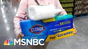 How To Disinfect Your Home When Cleaning Products Are Sold Out | MSNBC 2