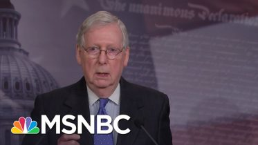 Mitch McConnell: Coronavirus Response 'Requires Extraordinary Measures' | MSNBC 6