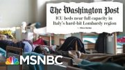 State And Local Governments Ramping Up Already Extraordinary Containment Measures | Deadline | MSNBC 3
