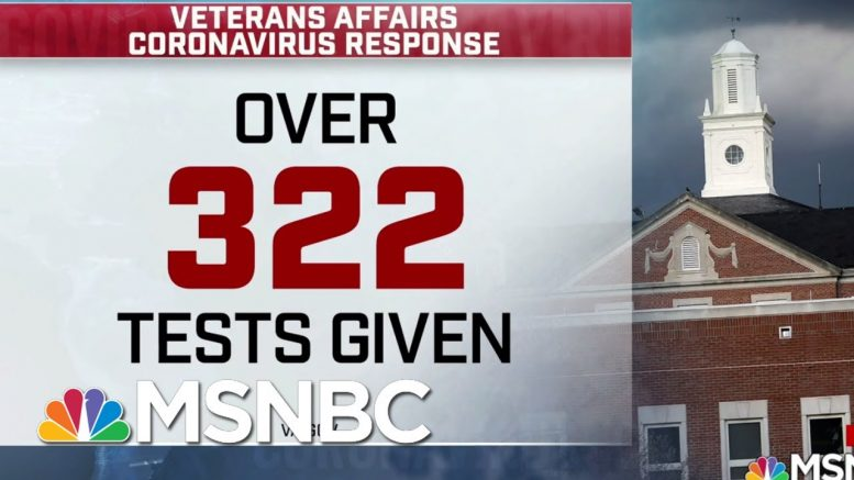 VA's Mission To See Civilian Patients Vanishes From Site: WaPo | Morning Joe | MSNBC 1