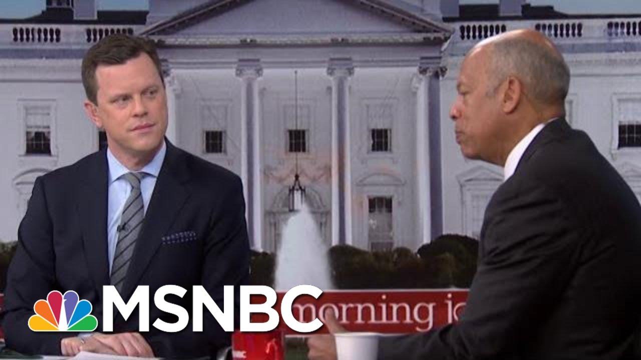 Jeh Johnson Weighs In On Coronavirus Response | Morning Joe | MSNBC 1