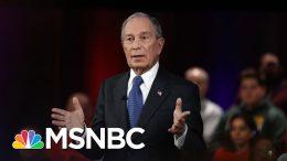 'Bloomberg Effect' Among Challenges Facing Biden In Texas   Rachel Maddow   MSNBC 8