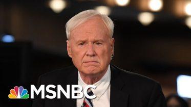 Joe Reacts To Chris Matthews Retirement | Morning Joe | MSNBC 6