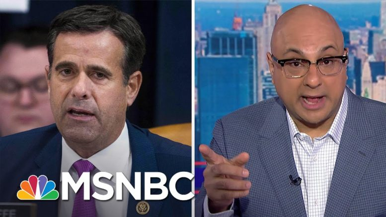 Velshi: Nominating Ratcliffe Gives Trump A Loophole | MSNBC 1