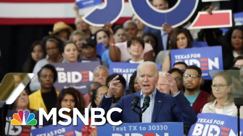 Virginia & NC Could Foreshadow Biden's Super Tuesday Success | Morning Joe | MSNBC 1