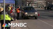 It Takes Seven Seconds To Vote By Car In Denver, Colorado | Hallie Jackson | MSNBC 5