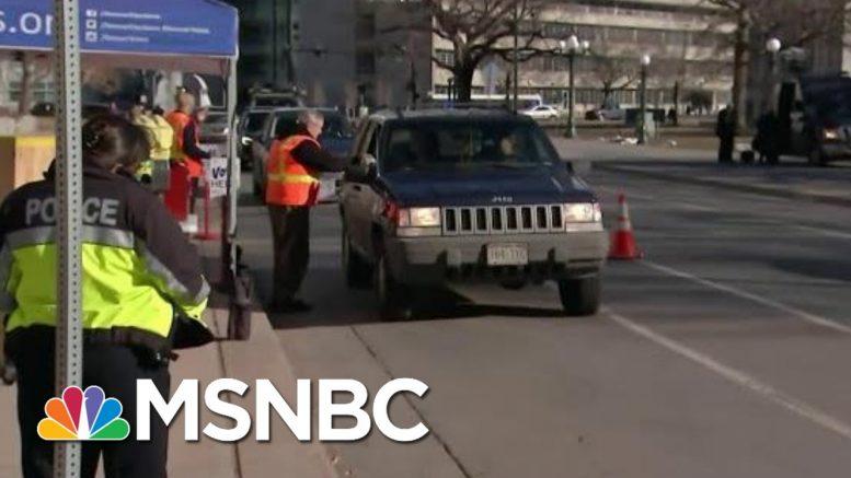 It Takes Seven Seconds To Vote By Car In Denver, Colorado | Hallie Jackson | MSNBC 1