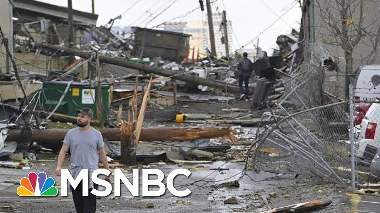 Mayor Cooper On TN Tornado: Last Night 'A Reminder Of How Fragile Life Is'   Velshi & Ruhle   MSNBC 7