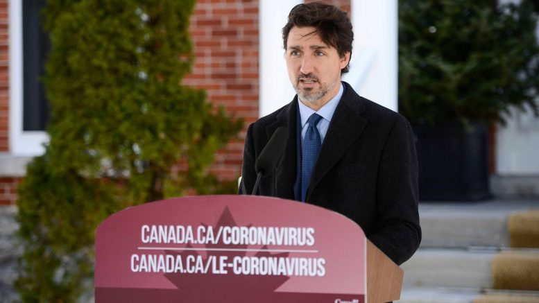 Prime Minister Trudeau addresses PPE shortages during daily press conference 1