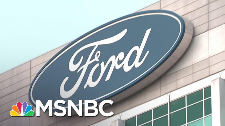 Ford To Halt North American Production Over Coronavirus Outbreak | Andrea Mitchell | MSNBC 1