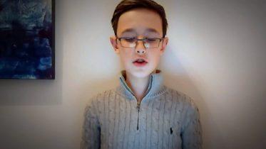 Boy's heartfelt poem: 'COVID be gone in the depths of dawn' 4