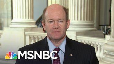 Sen. Coons: 'My Hope' That Coronavirus Relief Bill Will Pass Through Senate Today | Katy Tur | MSNBC 6