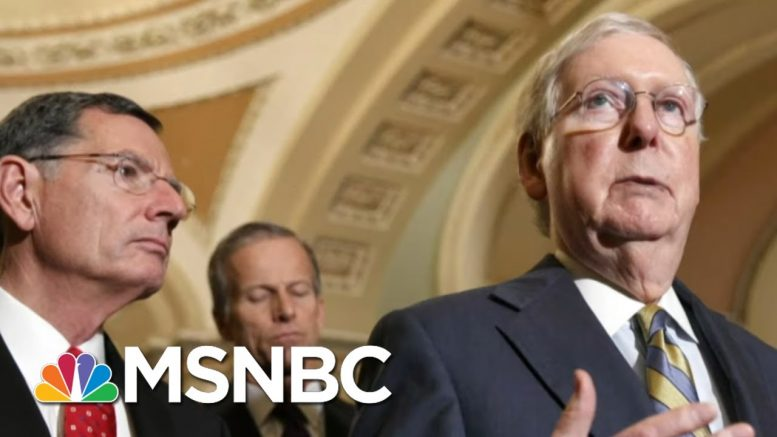 Trump Signs First Coronavirus Aid Bill - Day That Was | MSNBC 1