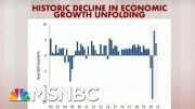 Rattner's Charts: Historic Decline In Economic Growth Is Unfolding | Morning Joe | MSNBC 2