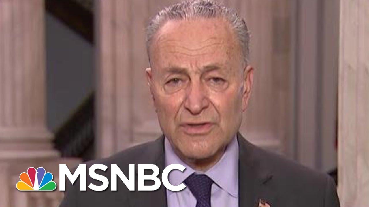 Sen. Schumer: We Need Bold, Quick, Bipartisan Action | Morning Joe | MSNBC 6