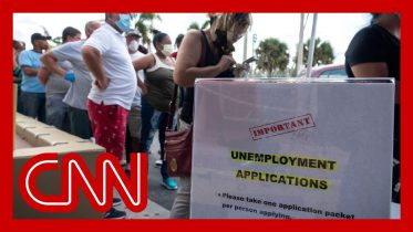 Jobless claims surge for third week as 6.6 million Americans file for unemployment 6