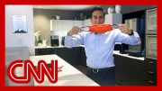 Dr. Sanjay Gupta shows how to make your own mask at home 4