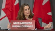 Freeland responds to question about rent payments 5