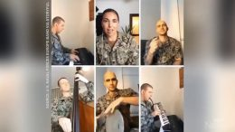 U.S. Navy band honours Italy with classic song 'O Sole Mio' 6